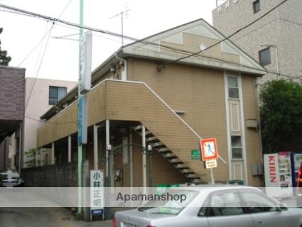 神奈川県相模原市中央区、矢部駅徒歩17分の築23年 2階建の賃貸アパート