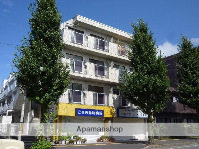神奈川県相模原市中央区、淵野辺駅徒歩18分の築30年 4階建の賃貸マンション