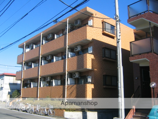 神奈川県相模原市中央区、淵野辺駅徒歩18分の築24年 3階建の賃貸マンション