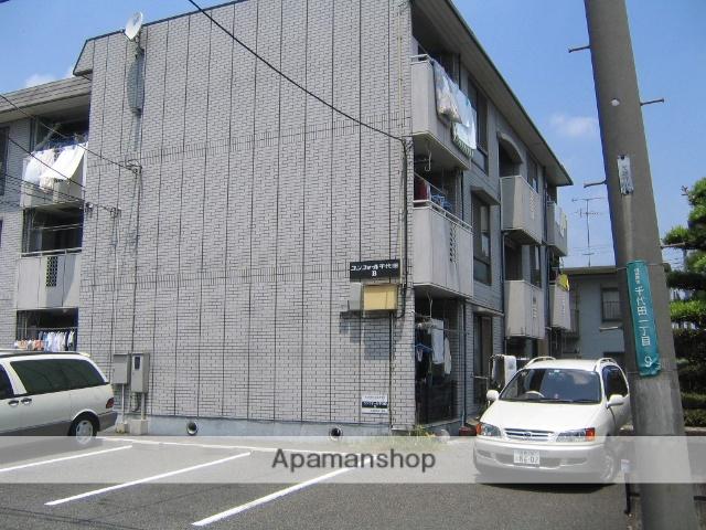 神奈川県相模原市中央区、相模原駅バス6分税務署前停下車後徒歩2分の築22年 3階建の賃貸マンション