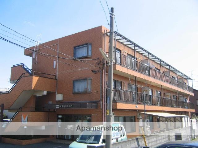 神奈川県相模原市中央区、淵野辺駅徒歩7分の築27年 3階建の賃貸マンション