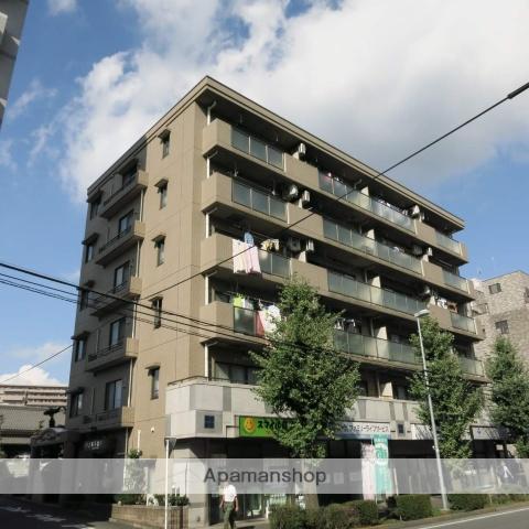 神奈川県相模原市中央区、淵野辺駅徒歩5分の築23年 6階建の賃貸マンション