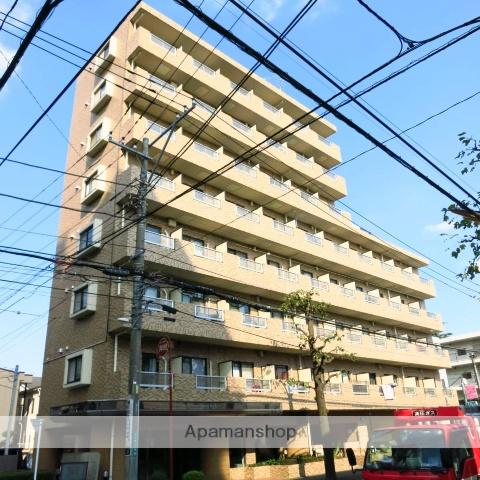 神奈川県相模原市中央区、淵野辺駅徒歩25分の築23年 8階建の賃貸マンション