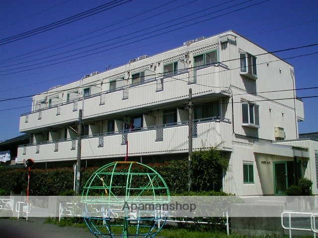 神奈川県相模原市中央区、淵野辺駅バス8分栄公園下車後徒歩3分の築25年 3階建の賃貸マンション