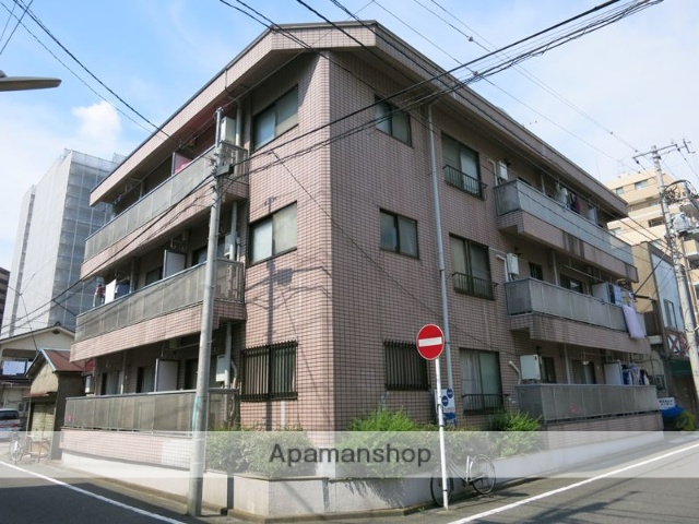 神奈川県相模原市中央区、淵野辺駅徒歩3分の築45年 3階建の賃貸マンション