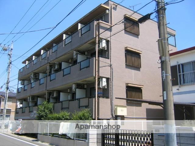 神奈川県相模原市中央区、淵野辺駅徒歩22分の築25年 4階建の賃貸マンション