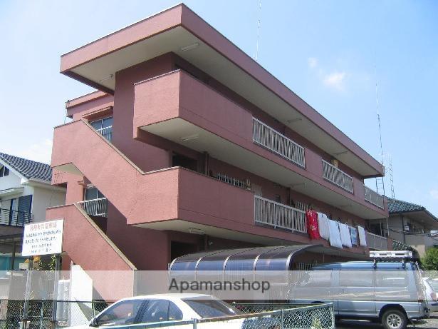 神奈川県相模原市中央区、淵野辺駅徒歩3分の築32年 3階建の賃貸マンション