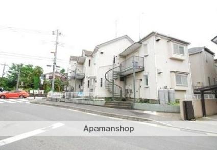 神奈川県川崎市麻生区、鶴川駅徒歩10分の築25年 2階建の賃貸アパート