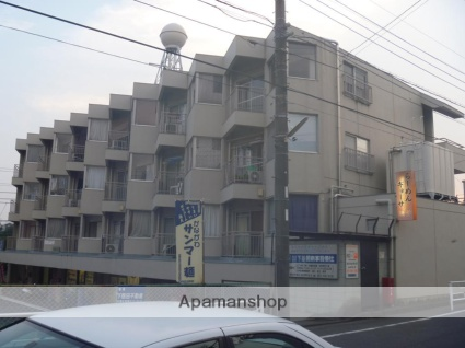 神奈川県横浜市青葉区、田奈駅徒歩6分の築38年 4階建の賃貸マンション