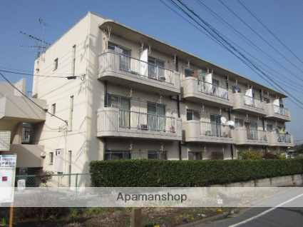 東京都町田市、柿生駅徒歩21分の築30年 3階建の賃貸マンション