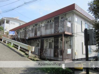 東京都町田市、玉川学園前駅徒歩12分の築41年 3階建の賃貸アパート