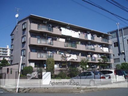東京都町田市、南町田駅徒歩7分の築23年 4階建の賃貸マンション