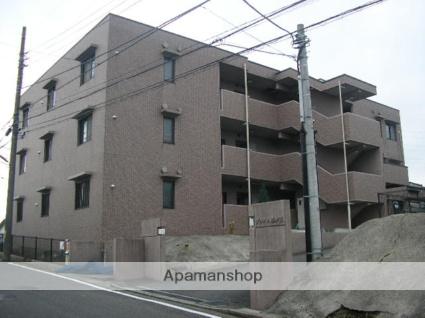 神奈川県横浜市青葉区、藤が丘駅徒歩13分の築21年 3階建の賃貸マンション