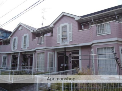 神奈川県川崎市麻生区、鶴川駅徒歩15分の築17年 2階建の賃貸アパート