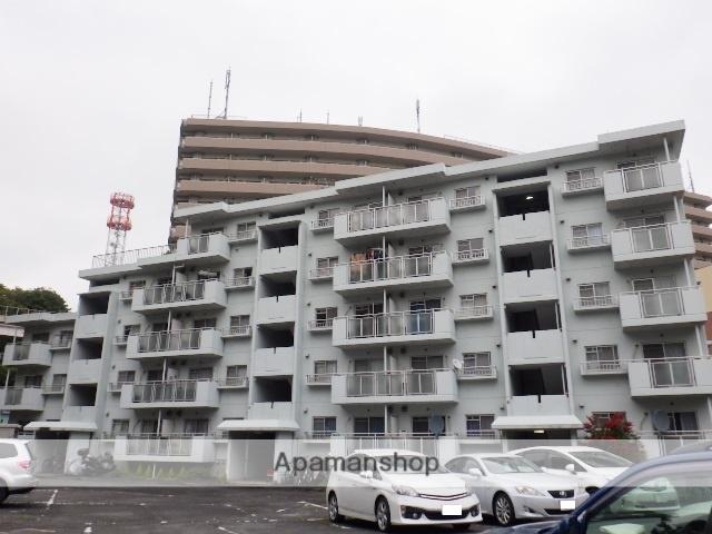 神奈川県横須賀市、横須賀駅徒歩8分の築33年 5階建の賃貸マンション