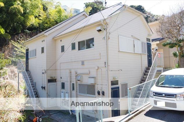 神奈川県横須賀市、横須賀駅徒歩10分の築23年 2階建の賃貸アパート