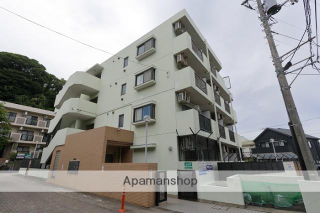 神奈川県横須賀市、堀ノ内駅徒歩4分の築23年 4階建の賃貸マンション
