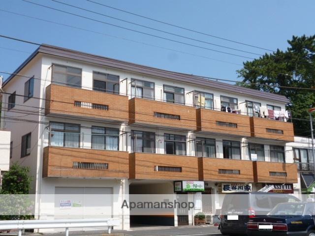 神奈川県横須賀市、堀ノ内駅徒歩18分の築39年 3階建の賃貸マンション
