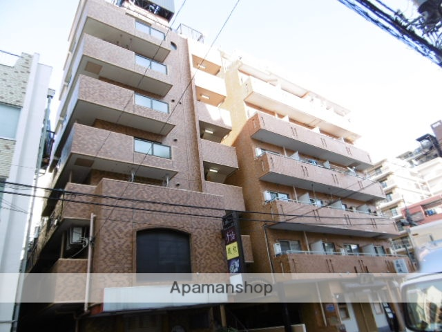 神奈川県横須賀市、汐入駅徒歩21分の築29年 8階建の賃貸マンション