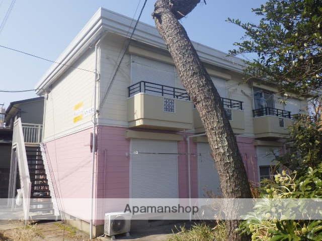 神奈川県横須賀市、田浦駅徒歩13分の築23年 2階建の賃貸アパート