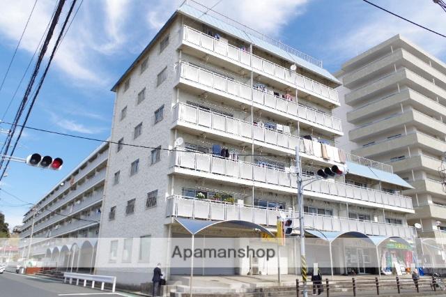 神奈川県横須賀市、堀ノ内駅徒歩20分の築42年 6階建の賃貸マンション