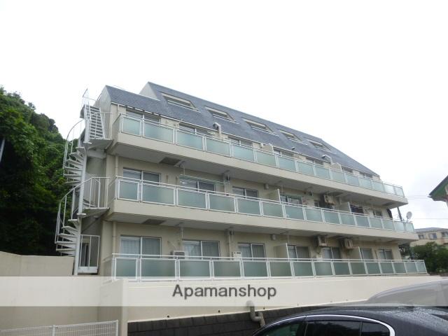 神奈川県横須賀市、久里浜駅徒歩32分の築30年 4階建の賃貸マンション