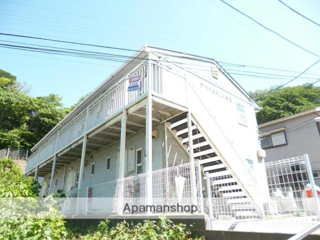 神奈川県横須賀市、横須賀駅徒歩8分の築22年 2階建の賃貸アパート