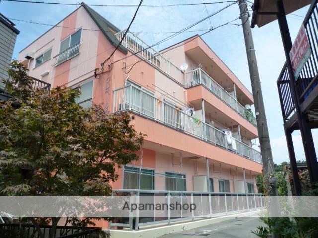 神奈川県横須賀市、京急大津駅徒歩14分の築30年 3階建の賃貸マンション