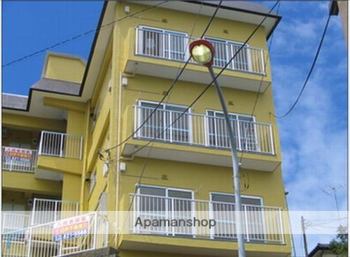 神奈川県横須賀市、堀ノ内駅徒歩8分の築45年 3階建の賃貸マンション