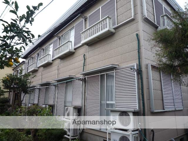 神奈川県横須賀市、横須賀駅徒歩10分の築30年 2階建の賃貸アパート