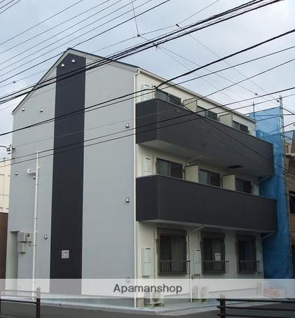 神奈川県横須賀市、追浜駅徒歩6分の築4年 3階建の賃貸アパート