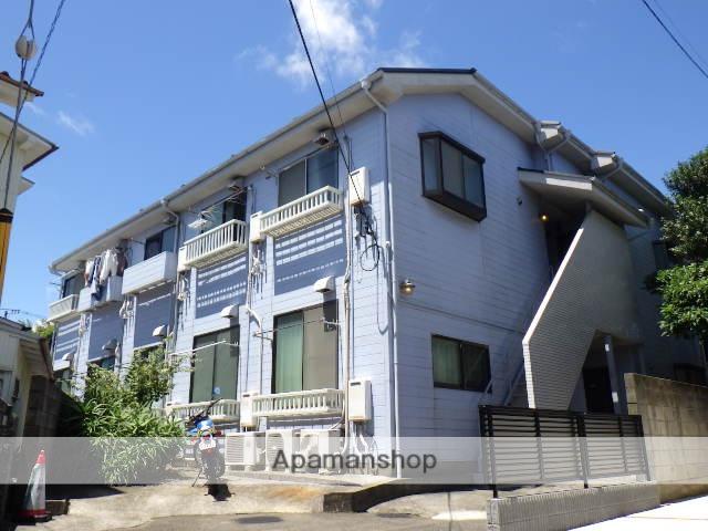 神奈川県横須賀市、堀ノ内駅徒歩17分の築30年 2階建の賃貸アパート