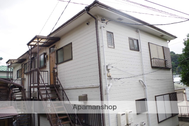 神奈川県横須賀市、汐入駅徒歩7分の築25年 2階建の賃貸アパート