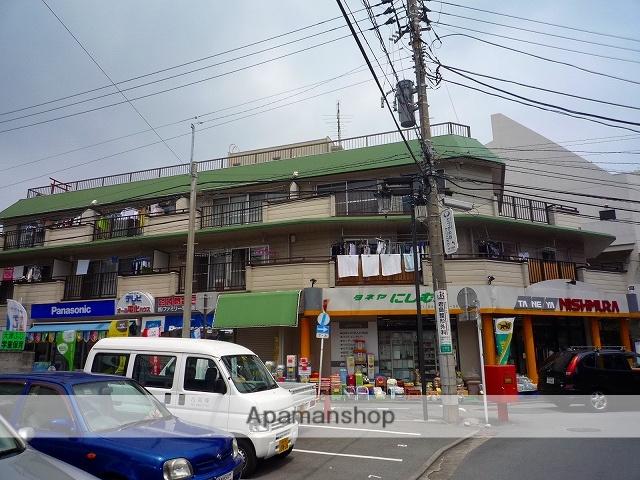 神奈川県横須賀市、京急大津駅徒歩1分の築40年 3階建の賃貸マンション