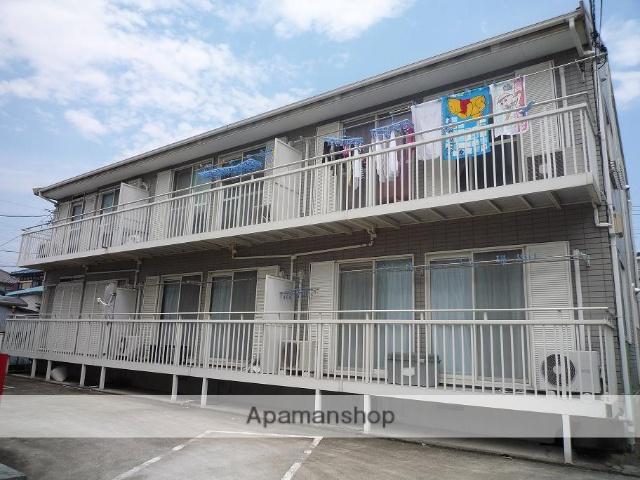 神奈川県横須賀市、横須賀駅京浜急行バス12分池上中学下車後徒歩6分の築20年 2階建の賃貸アパート