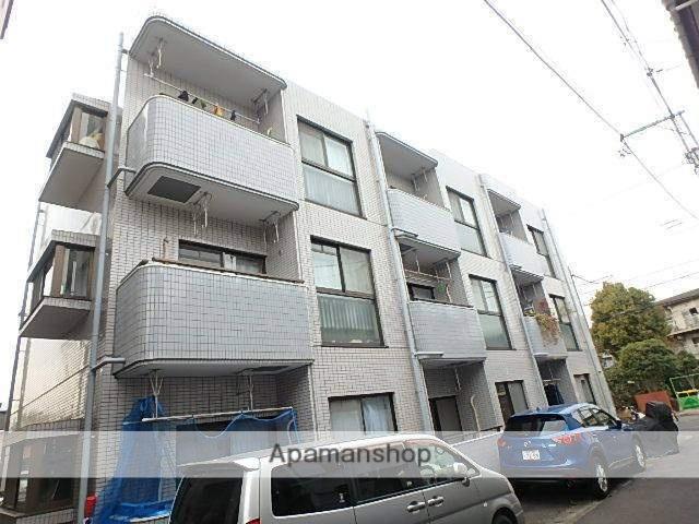 神奈川県川崎市多摩区、津田山駅徒歩20分の築26年 3階建の賃貸マンション