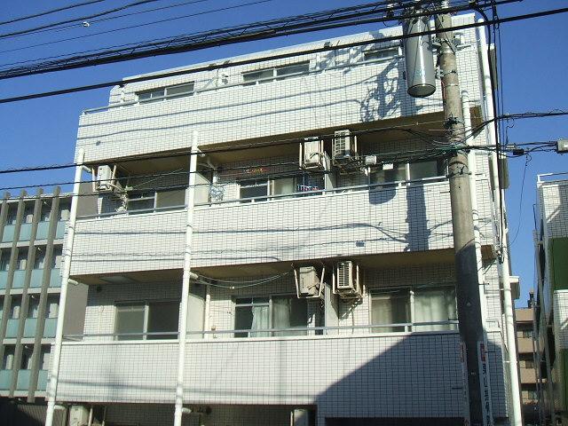 神奈川県川崎市中原区、武蔵中原駅徒歩20分の築30年 4階建の賃貸マンション