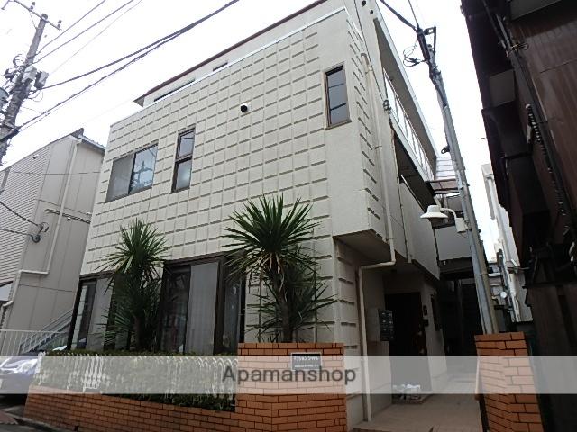 神奈川県川崎市中原区、新丸子駅徒歩8分の築31年 3階建の賃貸マンション