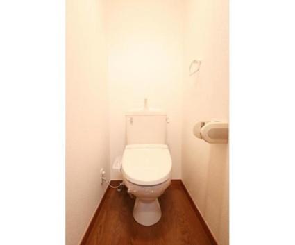 フォレストオモテ[1K/24.11m2]のトイレ