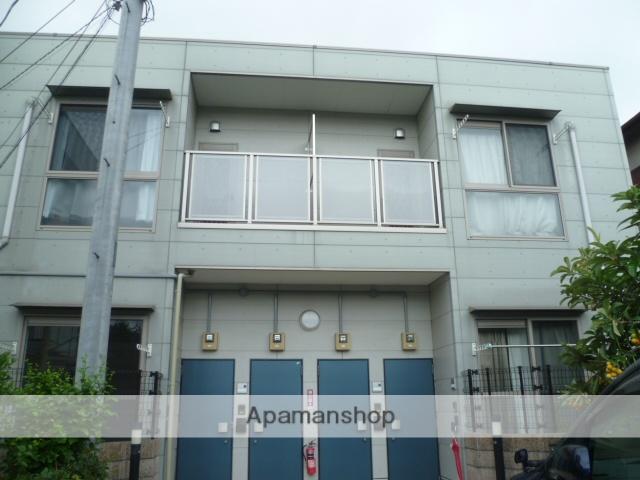 神奈川県川崎市幸区、川崎駅徒歩18分の築13年 2階建の賃貸アパート