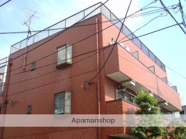 神奈川県川崎市中原区、向河原駅徒歩20分の築22年 3階建の賃貸マンション