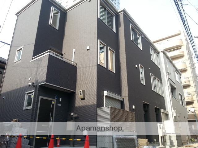 神奈川県川崎市幸区、尻手駅徒歩13分の築3年 3階建の賃貸アパート