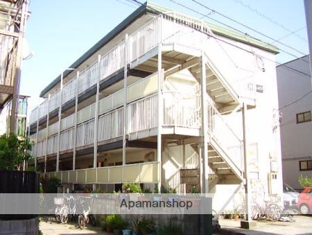 神奈川県川崎市幸区、尻手駅徒歩19分の築27年 3階建の賃貸アパート