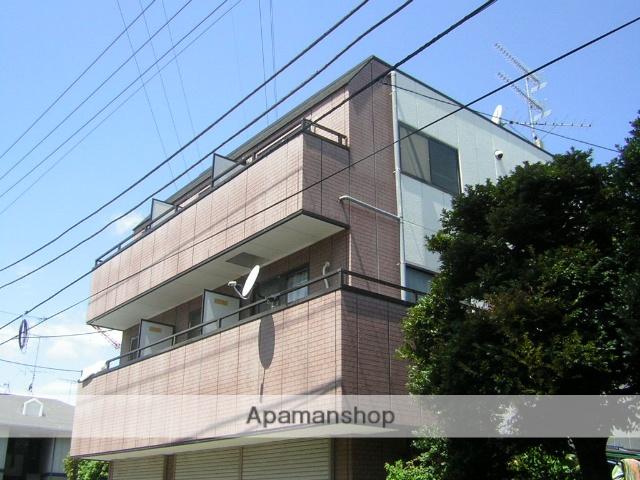 神奈川県横浜市港北区、日吉駅徒歩13分の築27年 3階建の賃貸マンション