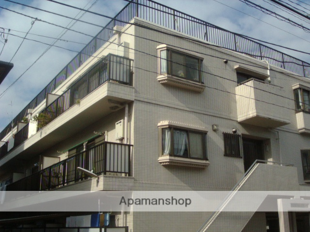 神奈川県川崎市幸区、尻手駅徒歩4分の築27年 3階建の賃貸マンション