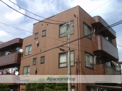 神奈川県川崎市中原区、多摩川駅徒歩13分の築33年 3階建の賃貸マンション