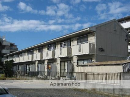 神奈川県川崎市中原区、武蔵中原駅徒歩20分の築25年 2階建の賃貸アパート