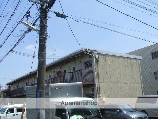 神奈川県川崎市中原区、武蔵中原駅徒歩10分の築38年 2階建の賃貸アパート