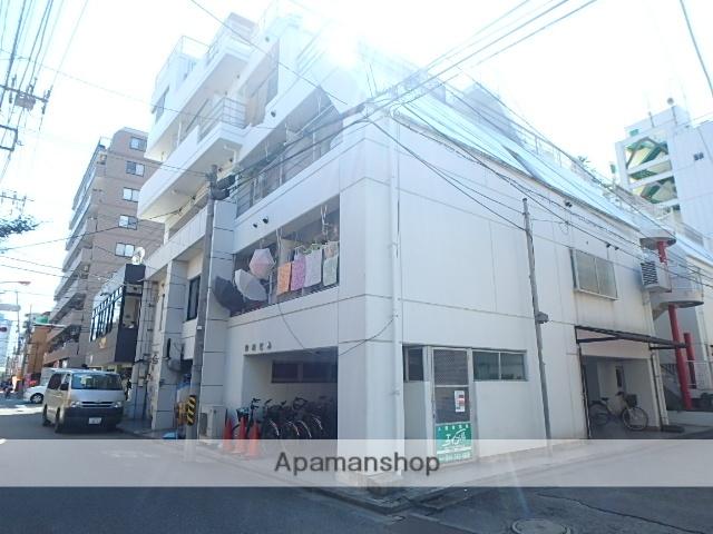 神奈川県川崎市中原区、鹿島田駅徒歩17分の築33年 6階建の賃貸マンション