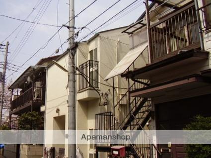 神奈川県川崎市中原区、平間駅徒歩18分の築27年 2階建の賃貸アパート
